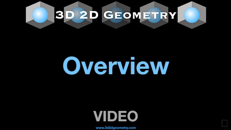 3D2D Geometry Overview